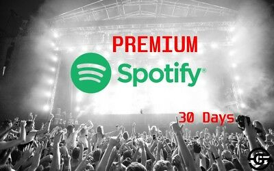 Spotify Premium 30 Days [INSTANT DELIVERY]