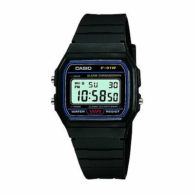 Casio Retro Casual Mens Watch - Black One Size