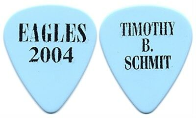 The Eagles Timothy B Schmit authentic band issued 2004 concert tour Guitar Pick