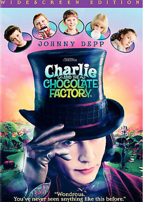 Charlie and the Chocolate Factory (DVD, Widescreen) - **DISC ONLY**