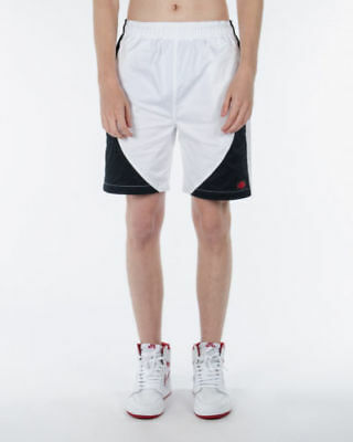 68be7712c6a New Nike Air Jordan Blue Label Muscle Shorts Black White Red 884269-010  Size L