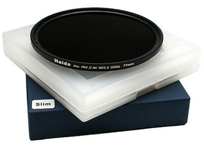 Haida PRO II (PROII) MC Neutral Density Filter ND 3.0 SLIM 1000x - 77mm - 77 mm