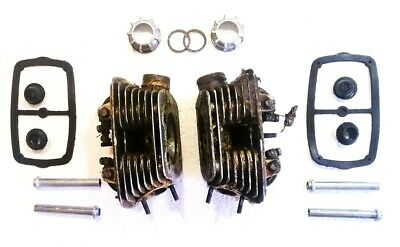 Cylinder Heads (with Rockers,Valves,Springs,Tubes,Gaskets, Caps,Nuts) for Dnepr