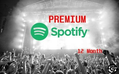 Spotify Premium 12 Month [INSTANT DELIVERY]