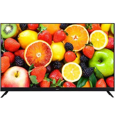 "DEVANTI 65"" Inch Smart LED TV 4K UHD HDR LCD LG Screen Netflix Black"