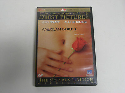 American Beauty DVD 1999 Best picture