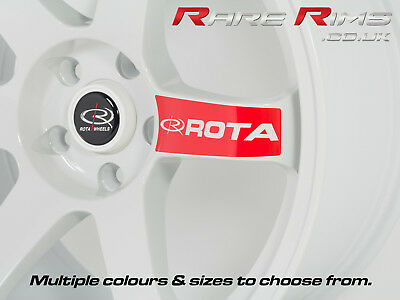 Rota Grid Drift Spoke Stickers Wheels Stickers Decals OFFICIAL High Quality