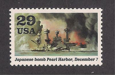 Japanese Bomb Pearl Harbor - Dec 7, 1941 - Wwii - U.s. Stamp - Mint Condition