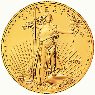 2005 - $50 1oz Gold American Eagle BU