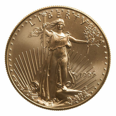 1997 - $50 1oz Gold American Eagle BU