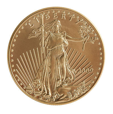 2009 - $50 1oz Gold American Eagle BU