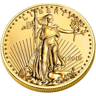 2010 - $50 1oz Gold American Eagle BU