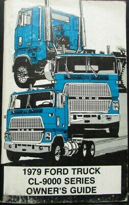 ford cl  semi cabover  truck  picclick