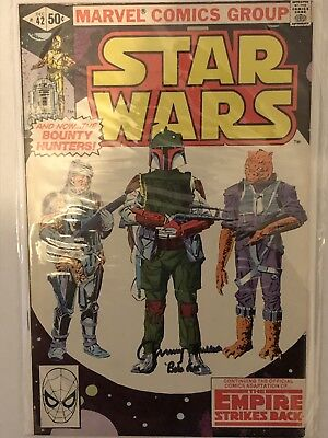 Star Wars #42 Signed By Jeremy Bulloch