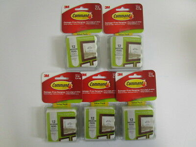 60 Command 3M Damage-Free Hanging Picture Hanging Strips Medium Sealed - Nt 4167