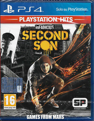 Infamous Second Son Ps4 Nuovo Italiano