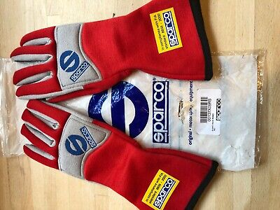 Sparco FIA standard 8856 - 2000 GUANTI WAVE ROSSO  Race / Rally / Karting UNUSED