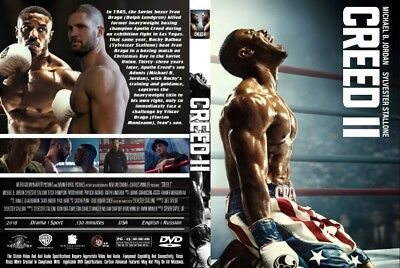"""""""creed 2"""" Dvd  Free Shipping  Factory Sealed Ships With Tracking"""