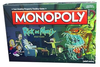 Usaopoly Monopoly Rick And Morty Collector's Editon, New and Sealed