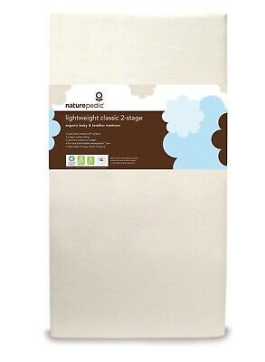 NATUREPEDIC LIGHTWEIGHT DUAL SIDED ORGANIC COTTON MATTRESS valued at $289.00