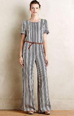 92e1d3e1f92a ANTHROPOLOGIE HARLYN HIGHLINE jumpsuit size M -  65.99