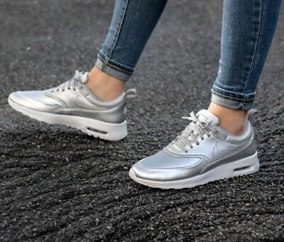 size 40 72649 5b9b5 Basket nike air max thea femme 37.5 Silver Argent