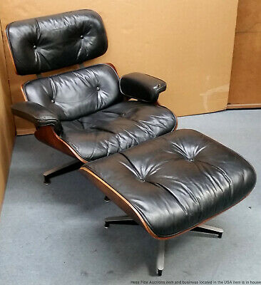 Magnificent Original Vintage Charles Eames Herman Miller Lounge Chair Dailytribune Chair Design For Home Dailytribuneorg