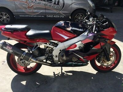Kawasaki Zx9 Zx 9 Zx9R 11/2000Mdl 52979Kms Clear Title Project Make An Offer