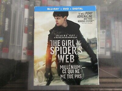 BRAND NEW The In The Spiders Web (Blu Ray + DVD + Digital)