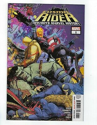 Cosmic Ghost Rider Destroys Marvel History # 1 of 6 Cover A NM Ships Mar 6th