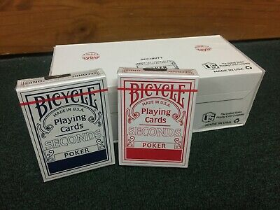 Brand New Factory Sealed Bicycle Seconds Brick (12 Decks) Rare Playing Cards B