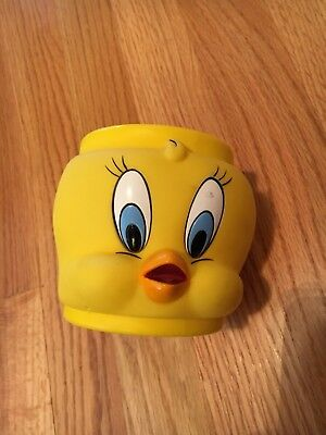 Vintage 1992 WB Promotional Looney Tunes Tweety Bird Mug