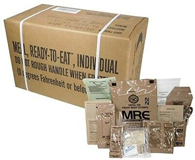 US Military MRE (Meals Ready-To-Eat) Inspection Date 2020 and Up - MRE Case