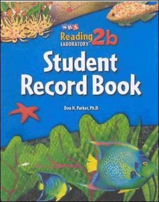 Reading Lab 2B, Student Record Book (5-Pack), Levels 2.5 - 8.0 by Don Parker ...