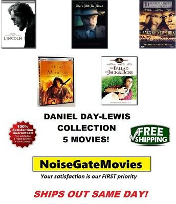 Daniel Day-Lewis 5 DVD Collection: Lincoln/There Will Be Blood/Gangs of New York