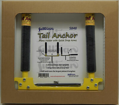 NEW Sullivan S848 Tail Anchor Plane Holder w/Quick Drop Arms FREE US SHIP