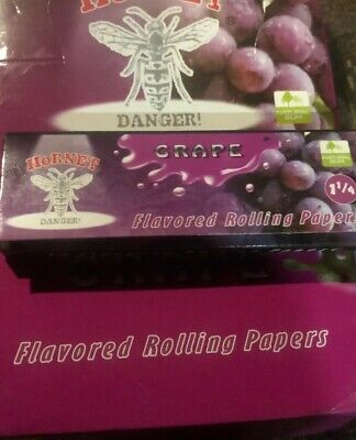 1 1/4 1.25-1 PACK-Grape 🍇 Flavor - Rolling Papers Fruit Roll Buy 2 Get One Free
