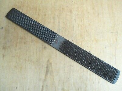 """Vintage 14"""" Nicholson Farriers Rasp File – Made In Usa – Double Sided Horse Shoe"""