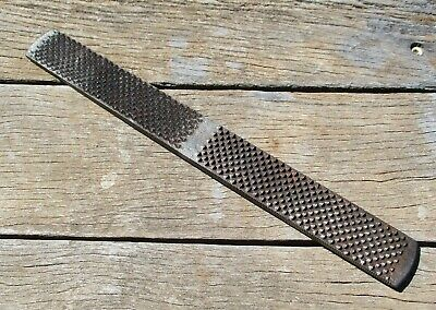 """Vintage 16"""" Nicholson Farriers Rasp File – Made In Usa – Double Sided Horse Shoe"""