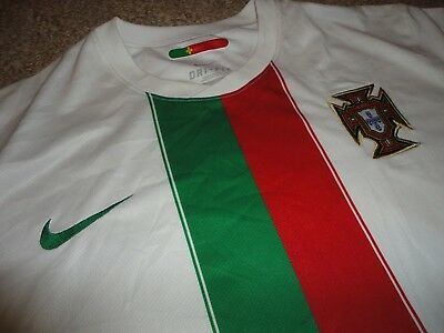 812145dc0 Authentic Nike Portugal National 2010 Soccer Football Shirt Jersey World  Cup 2XL