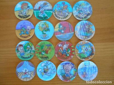 Lote 16 Magic Tazos Looney Tunes - Sin Repetidos - Matutano - 1994 (W2)