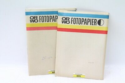 184 Sheets Orwo Photo Paper Bpe Schnellkopierpapier Positive Single-Sided 100
