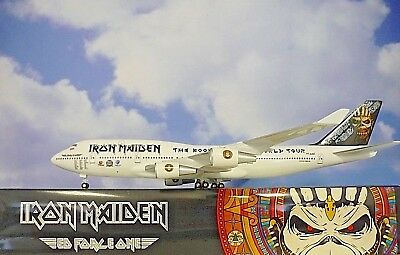 Herpa Wings catálogo Limox Wings 1:200 boeing 747-400 Iron Maiden TF-aak 60090