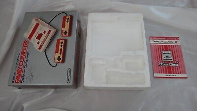 Nintendo Famicom Family Computer EMPTY BOX ONLY FC Japan