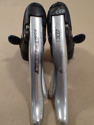 Campagnolo Daytona 2/3 x 9 speed ergopower brake lever shifters ergo