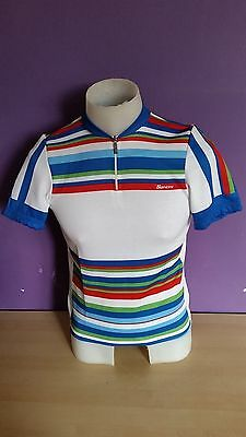 Santini cycling jersey Size S Bike Vintage NOS Italy Eroica Retro cee397851