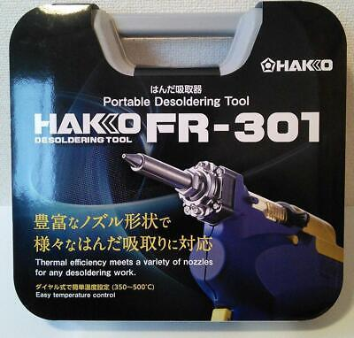 NEW HAKKO FR301-82 with Case 2 pole grounded 100V Free shipping Tracking number