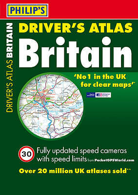 Philip's Driver's Atlas Britain 2012: Paperback A4 (Road Atlas), Very Good Books