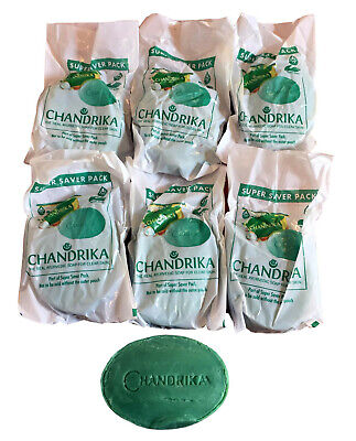 Chandrika Soap Bars 75g x 6 -SIX Packs Classic-Healthy Skin Acne Spots Tone