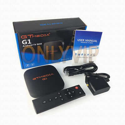 Iptv Android Box 7.1 + 1 Year Subscription 12 Months 4K Gtmedia Smart Stb